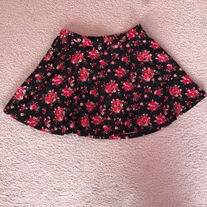 floral skirt- children